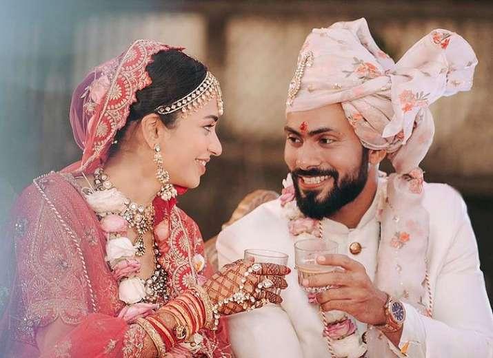 scam 1992 actress anjali barot ties knot with boyfriend gaurav arora