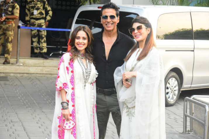 Akshay Kumar leaving for Ayodhya for movie Ramsetu's muhrat