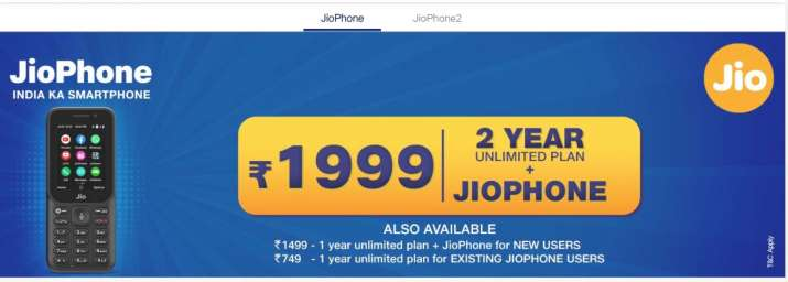 Reliance Jio new offer, existing JioPhone users free call and unlimited data benefits for 1 year