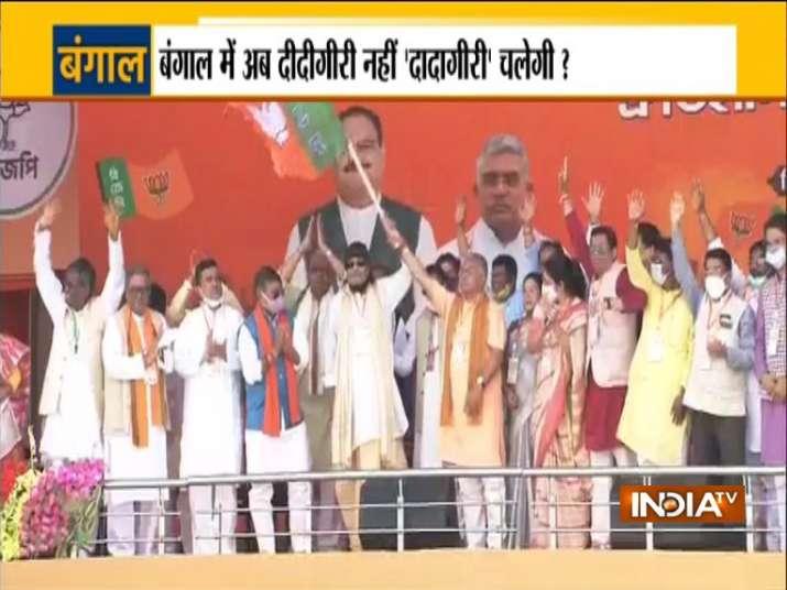 प्रधानमंत्री की ब्रिगेड रैली में शामिल होंगे मिथुन