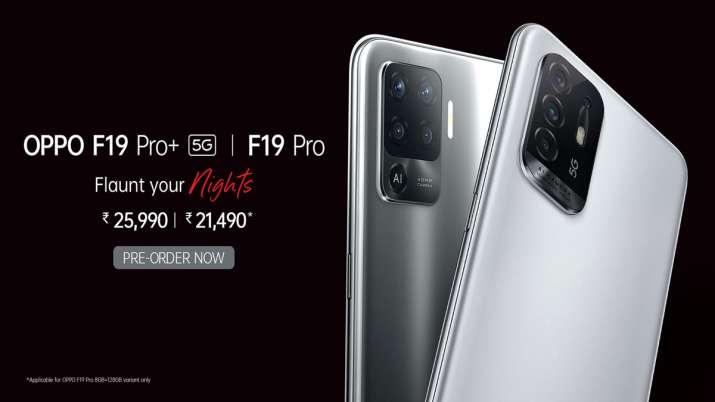 भारत में Oppo F19 सीरीज 21,490 रुपए की शुरुआती कीमत पर लॉन्च