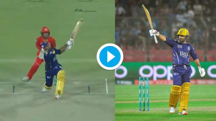 PSL 2021 : सरफराज अहमद ने उड़ाई इस गेंदबाज की धज्जियां, 4 गेंदों पर ठोंके लगातार 4 छक्के