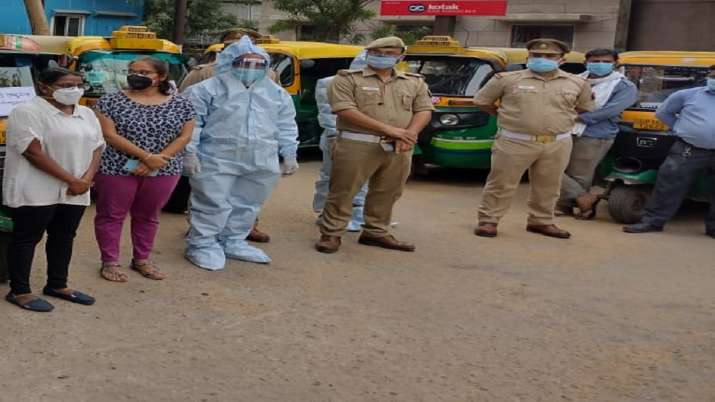 Auto ambulance launches from traffic police office noida ti ashutosh singh