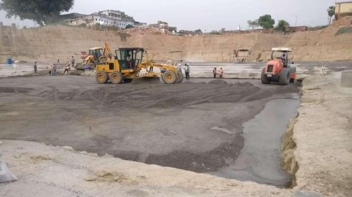 राम मंदिर की नींव का काम अक्तूबर तक होगा पूरा, 1.20 लाख वर्ग फीट में कंक्रीट की 45 लेयर बिछाई जाएंगी