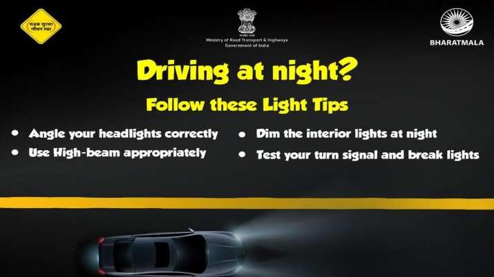 सावधान! रात में गाड़ी चलाते वक्त ये गलतियां पड़ेंगी भारी, सरकार ने दी चेतावनी