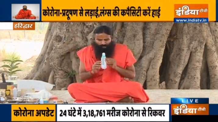 इन यौगिक उपायों से फेफड़े रहेंगे मजबूत, स्वामी रामदेव से जानें कैसे नैचुरल तरीके से बढ़ाएं ऑक्सीजन ल