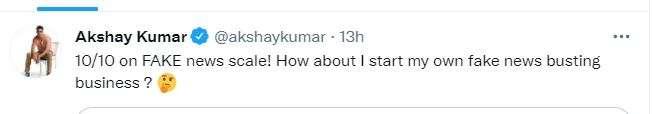 अक्षय कुमार ने एक और न्यूज को बताया फेक,  साजिद नाडियाडवाला की अगली फिल्म  में अहान शेट्टी के साथ नह
