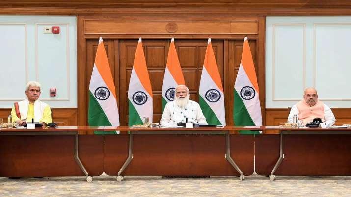 PM Modi-J&K all-party meeting