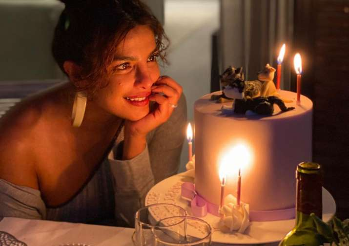 Priyanka Chopra birthday celebration pictures