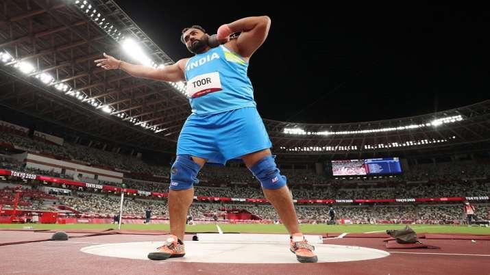 Tokyo Olympics : शॉटपुट खिलाड़ी तेजिंदरपाल तूर फाइनल में नहीं बना सके जगह