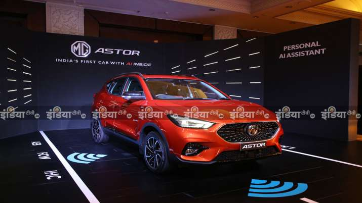 MG Astor SUV First Look Review