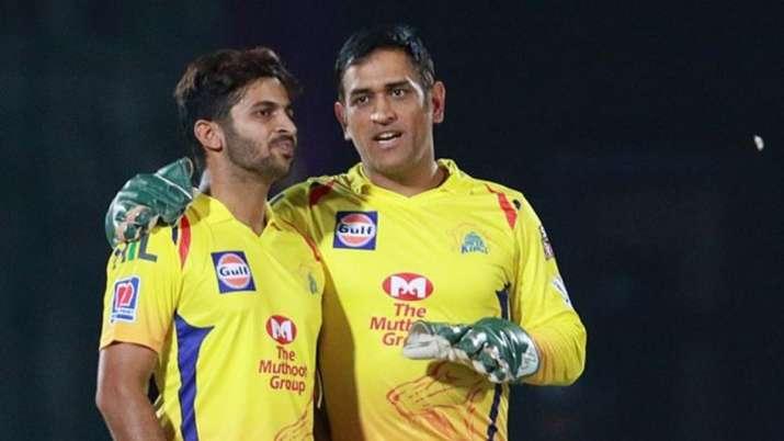 शार्दुल ठाकुर ने किया उस पल को याद जब धोनी ने उन्हें बल्लेबाजी में दी थी खास टिप्स