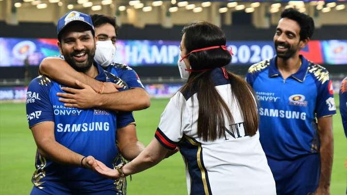 IPL 2021 CSK vs MI: Rohit Sharma would like to hit a hat-trick of IPL title before becoming the capt