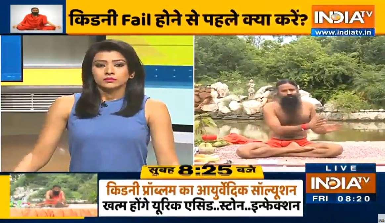 "Kidney Failure Symptoms In Hindi Yoga Ayurveda Swami Ramdev À¤• À¤¡à¤¨ À¤« À¤² À¤¹ À¤¨ À¤¸ À¤ªà¤¹à¤² À¤• À¤¯ À¤•à¤° À¤¸ À¤µ À¤® À¤° À¤®à¤¦ À¤µ À¤¸ À¤œ À¤¨ À¤ À¤‡à¤¸à¤• À¤²à¤• À¤·à¤£ À¤""र À¤¯ À¤— À¤¸à¤¨ India Tv Hindi News"