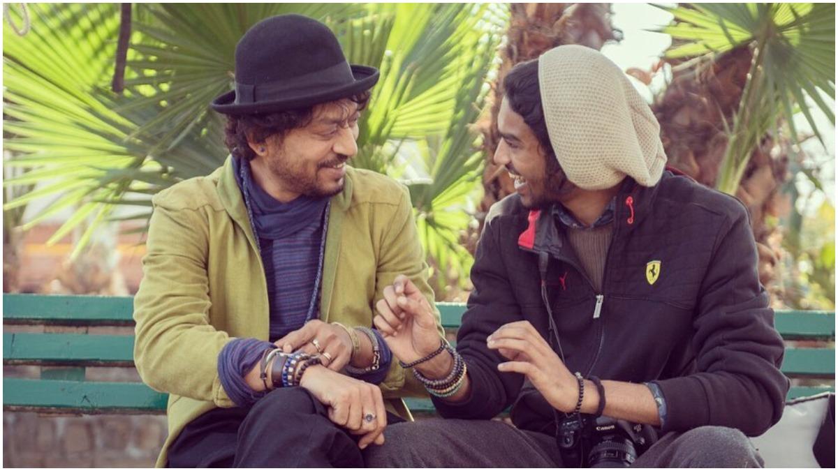 Irrfan Khan son Babil drop a hint in Bollywood debut क्या इरफान खान के बेटे बाबिल ने बॉलीवुड में डेब्यू का संकेत दिया? - India TV Hindi News