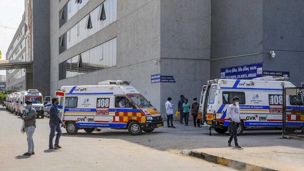 राहत की खबर! अहमदाबाद में कोराना के मामलों में आई भारी कमी, सिविल अस्पताल में 20% ऑक्सीजन बेड खाली