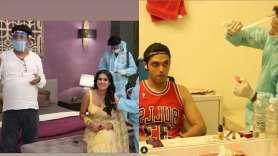 Tv shooting- India TV Hindi
