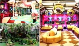 bigg boss 15 house inside pictures jungle theme - India TV Hindi