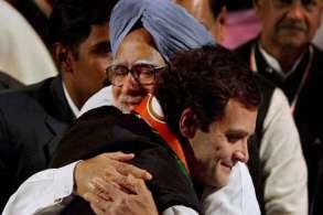 Rahul Gandhi and Manmohan Singh- India TV Hindi