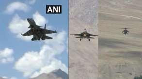 IAF deploys Sukhoi and MiG-29 fighter aircrafts near India-China LAC - India TV Hindi