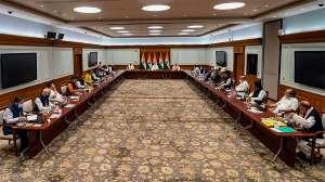 pm modi, pm modi meeting with jammu kashmir leaders, jammu kashmir leaders- India TV Hindi