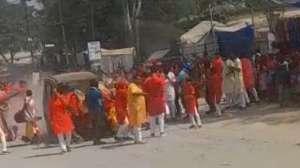 VIDEO: छत्तीसगढ़ में दोहराया गया लखीमपुर, सैकड़ों की भीड़ को रौंदते हुए निकल गई गाड़ी, 2 गिरफ्तार