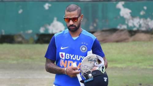 Shikhar Dhawan, Angelo Mathews, Shikhar Dhawan instagram, IPL, IPL 2020, BCCI, IPL news, Delhi capit- India TV Hindi