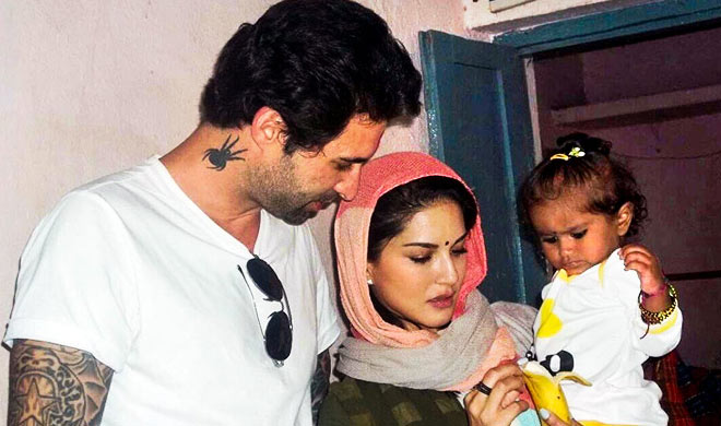 Sunny Leone says Daniel Weber and I are hands-on parents - India TV Hindi News