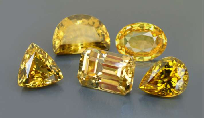 Pukhraj or yellow sapphire gemstone wearing according to zodiac ...