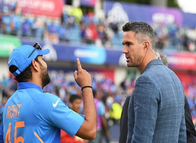 Kevin Pietersen to interview Rohit Sharma at 4 pm today, to discuss many  issues - आज शाम 4 बजे रोहित शर्मा का इंटरव्यू लेंगे केविन पीटरसन, कई  मुद्दों पर करेंगे चर्चा -