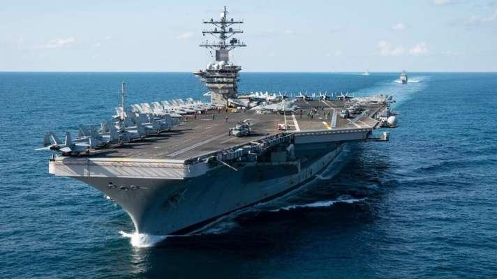 us deploys three aircraft carriers to pacific near china | भारत से उलझा चीन  तो अमेरिका ने लिया एक्शन, प्रशांत महासागर में उतारे तीन न्युक्लियर युद्धक  पोत - India TV Hindi News