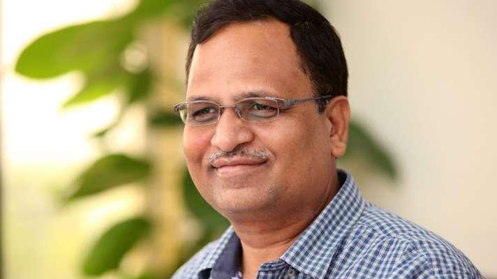 delhi health minister Satyendra Jain admitted to hospital ...