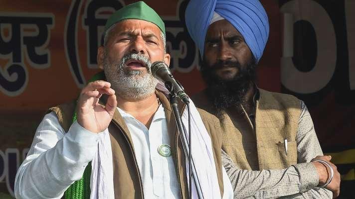 Rakesh Tikait threatening statement to open fire hang himself at Ghazipur  border । 'फांसी लगा लूंगा, यहां चलेगी गोली, कोई गिरफ्तारी नहीं होगी', राकेश  टिकैत की खुली धमकी - India TV Hindi ...