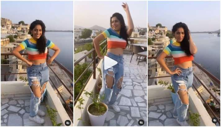 Video: 'दीया और बाती हम' फेम दीपिका सिंह का नया वीडियो, इस बार रिप्ड जींस  बनी चर्चा की वजह diya aur baati hum fame deepika singh shares dance video  in ripped jeans