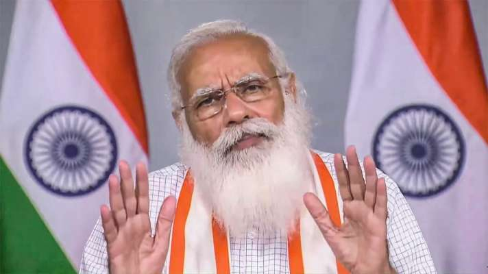 नरेंद्र मोदी ने बच्चों से कहा  देश में हालत बहुत खराब है इसलिए  परीक्षा रद्द कर दी.