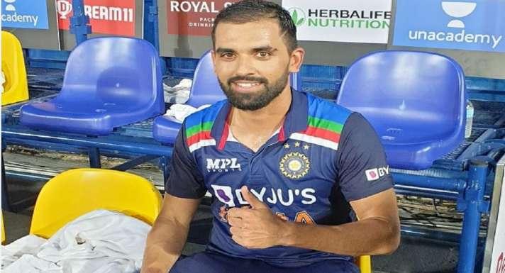 IND vs SL: Deepak Chahar credits Rahul Dravid for victory against Sri Lanka  - India TV Hindi News