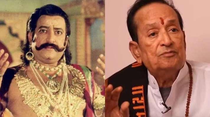 arvind trivedi who played the role of ravana in ramayana passes away at 83  years-'रामायण' में रावण का किरदार निभाने वाले अरविंद त्रिवेदी का 83 साल की  उम्र में निधन - India