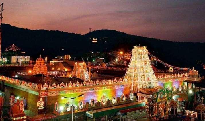 तिरुपति मंदिर 7.5 टन सोना गोल्ड मोनेटाइजेशन स्कीम में रखने को तैयार, सरकार से मांगी कुछ रियायत- India TV Paisa