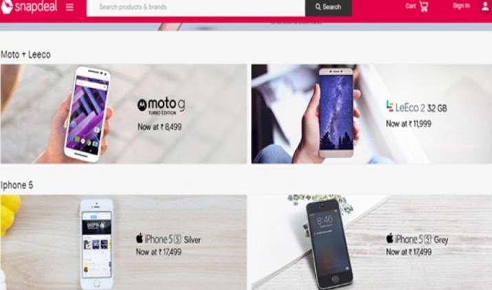 स्नैपडील का धमाका सेल : कई शानदार स्मार्टफोन्स पर मिल रहे हैं आकर्षक ऑफर और छूट- India TV Paisa