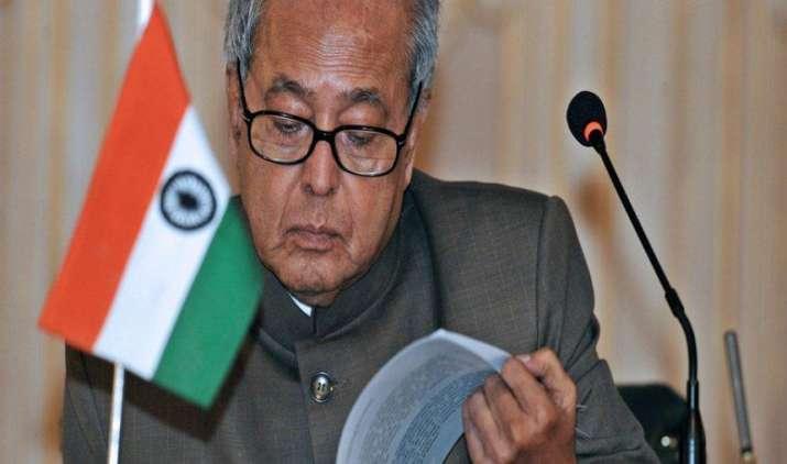 GST से जुड़े चार विधेयकों को राष्ट्रपति प्रणब मुखर्जी ने दी मंजूरी, 1 जुलाई से लागू होने की उम्मीद- India TV Paisa