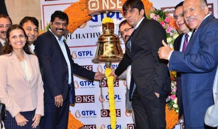 जीटीपीएल हैथवे की शेयर बाजार में फ्लैट लिस्टिंग, 170 रुपए प्रति शेयर के इश्यू प्राइस पर ही हुआ सूचीबद्ध- India TV Paisa
