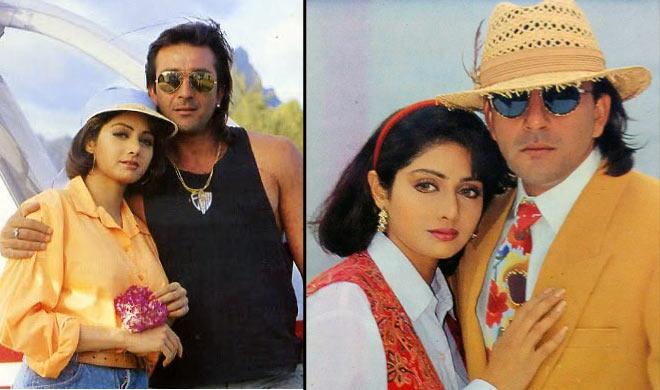 sri devi and sanjay dutt- India TV Hindi