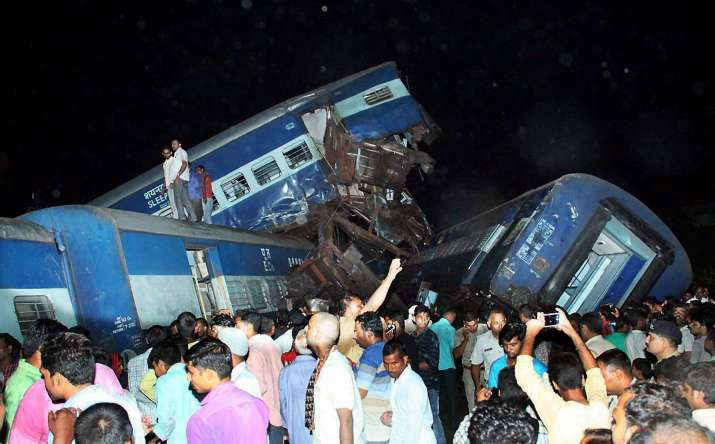 21 killed, 97 wounded in Utkal Express train accident- India TV Hindi
