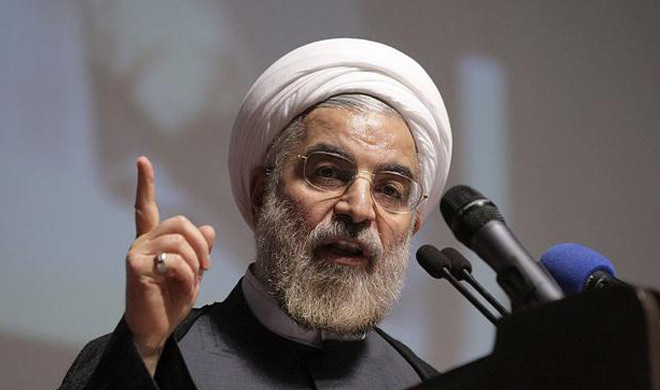 iran President Hassan Rouhani warned America on oath- India TV