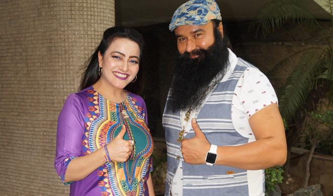 ram rahim and honeypreet- India TV Hindi