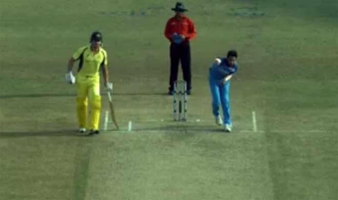 Bhuvneshwar's dead ball, 3rd odi- India TV Hindi