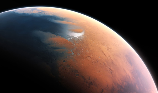 Ancient Mars was on the water revealed in the study- India TV Hindi