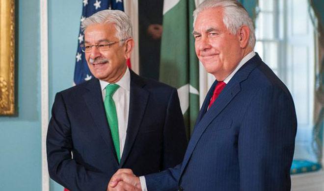 Discussion on several issues between Khwaja Asif and US...- India TV Hindi