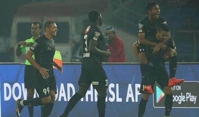 Indian Super League NorthEast United beat Delhi Dynamos 2-0...- India TV Hindi