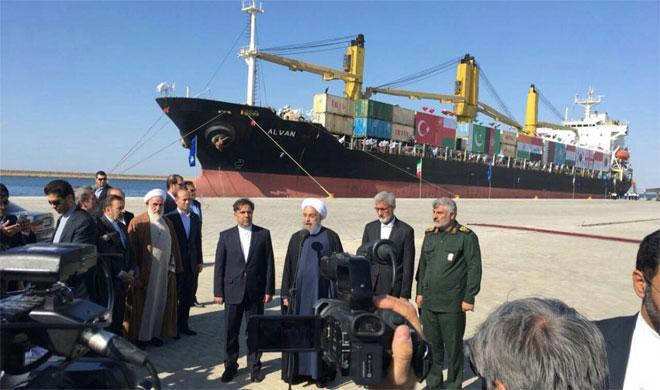 Hassan Rouhani inaugurates Chabahar port- India TV Hindi